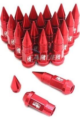 Nettedarikcisi Bijon Takımı Sivri Blox 20P Kırmızı