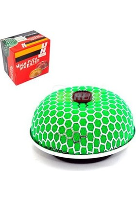 Nettedarikcisi Hava Filtresi Tunig 2 Aprt Mantar Krom-Yeşil