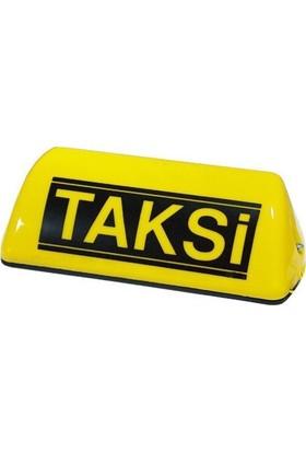 Nettedarikcisi Mıknatıslı Taksi Levhası Sarı