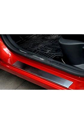 Spider Renault Clio Iv Kapı Eşiği 4 Parça Paslanmaz Çelik 2013 Üzeri Modeller