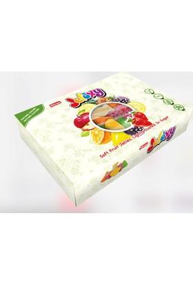 Elvan Jelaxy Jelatinsiz Jelly Şeker - Jelaxy Meyveler 200 gr Hediyelik Kutu