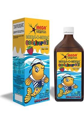 Mega Vitamin - Mega-O-Mega Sıvı Balık Yağı 240 ml