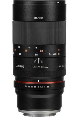 Samyang 100 mm F/2.8 Macro Canon Uyumlu Dslr Lens