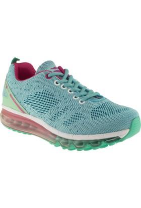 Jump 15502 Yeşil Kadın Spor Ayakkabı