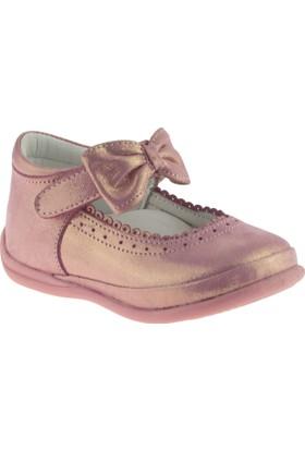 Perlina 1063 Tek Cırt Atom Comfort Pembe Çocuk Ayakkabı