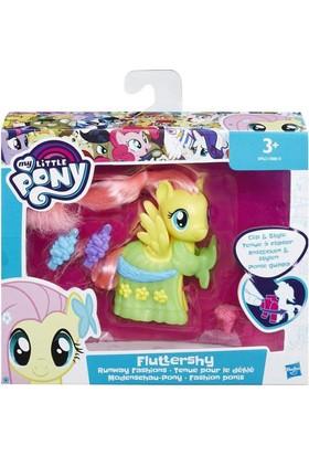 My Little Pony B8810 Elbiseli Pony Figür
