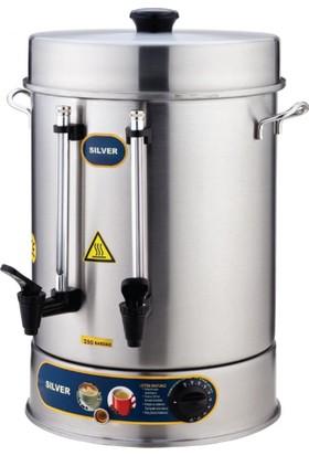 İkram Dünyası Işıkgaz Standart Çay Makinaları 40 Bardaklık 2000
