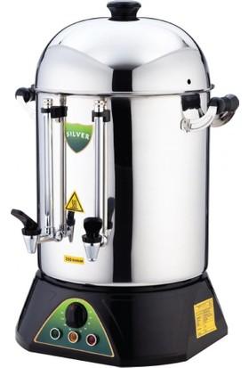İkram Dünyası Işıkgaz Çay Makinası Metal Musluklu 120 Bardaklık