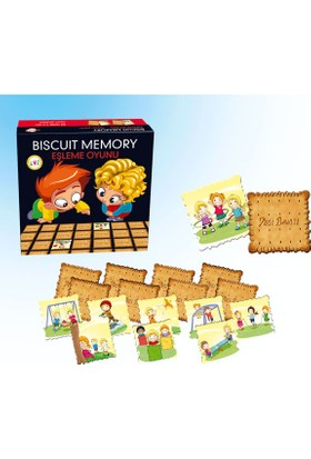 Biscuit Memory Oyun Parkı Eşleme Oyunu 1603