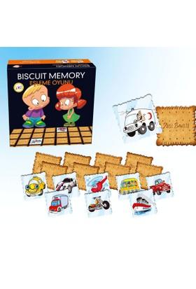 Biscuit Memory Taşıtlar Eşleme Eğitim Oyunu 1605