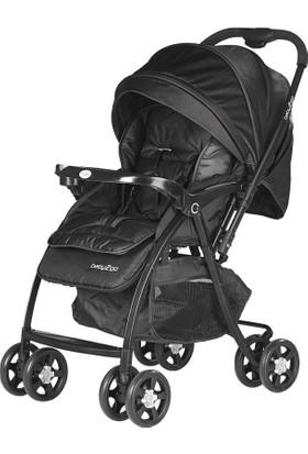 Baby2Go 6021 Puset Soft Siyah Bebek Arabası