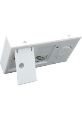 Aek-Tech Dijital Nem Ölçer Termometre (Beyaz)