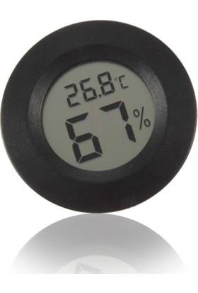 Aek-Tech Panel Tip Dijital Termometre Nem Ölçer