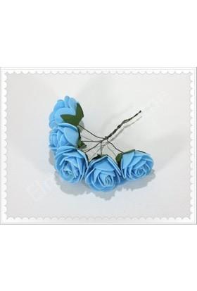 Eymen Mavi Latex Gül 144 Lü