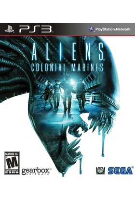 Aliens colonial marines ex. Ed. Ps3