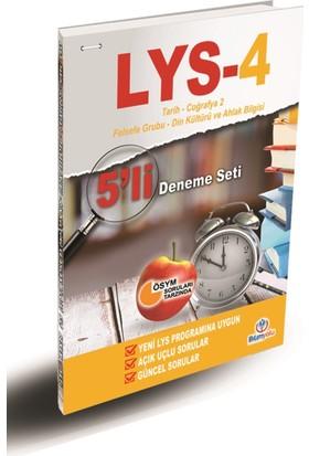 LYS-4 5'li Deneme Seti (Tarih-Coğrafya2- Felsefe Grubu- Din Kül.Ve Ahl. Bilgisi)