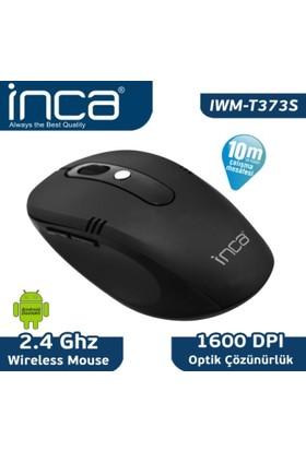 Inca IWM-T373S 2.4Ghz- 1600 Dpi Kablosuz Nano Alıcılı Rubber Siyah Mouse