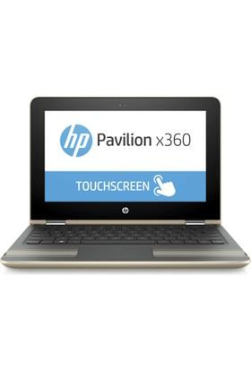 "HP Pavilion x360 11-U002NT Intel Pentium N3710 4GB 500GB + 8GB SSD Windows 10 Home 11.6"" Taşınabilir Bilgisayar W7Y99EA"