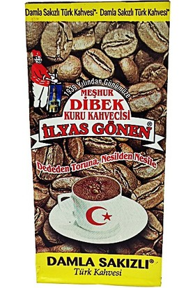 Meşhur Dibek Kuru Kahveci İlyas Gönen Damla Sakızlı Kahve