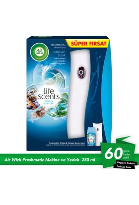 Air Wick Pure Oda Kokusu Freshmatic Makine + Yedek Set Pamuk Çiçeği