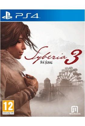 SYBERIA 3 PS4 Oyun