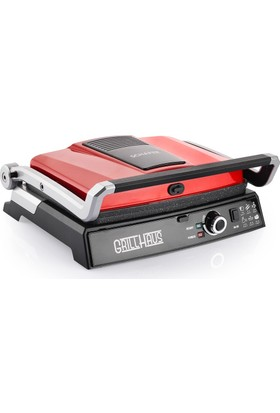 Schafer Grill Haus Tost Makinesi - Kırmızı
