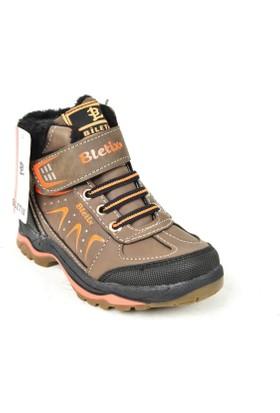 Bletix PT Erkek Çocuk İçi Termal Kürk Bot Ayakkabı