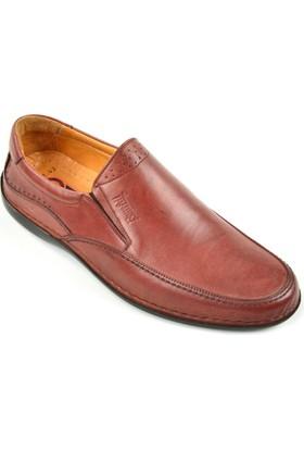 Fearful 001 Erkek Hakiki Deri Ortopedi Günlük Giyim Ayakkabı