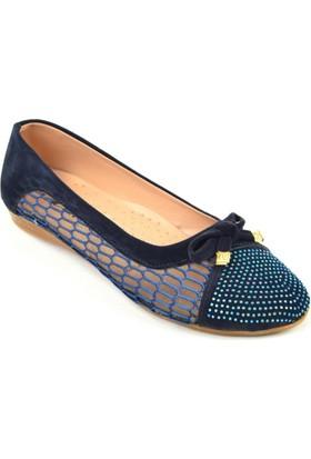 Azra ZN 158 Dantelli Bayan Babet Ayakkabı