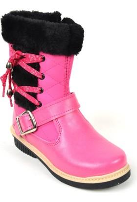 Walking PT 057 İçi Termal Kürk Kız Çocuk Bot Ayakkabı