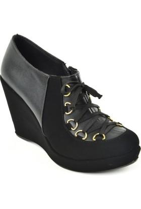 Ebrucan ZN Fermuarlı Kapalı Bayan Ayakkabı