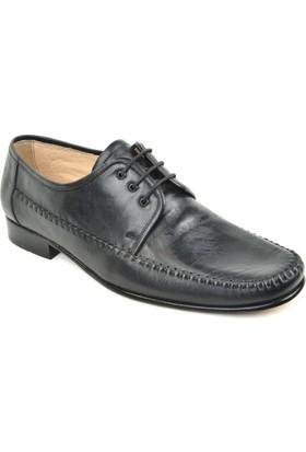 Tek Yıldız 04 Erkek Deri Kösele Kundura Ayakkabı