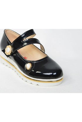 Tuba 206 Cırtlı&Ortopedik Topuklu Kız Çocuk Ayakkabı