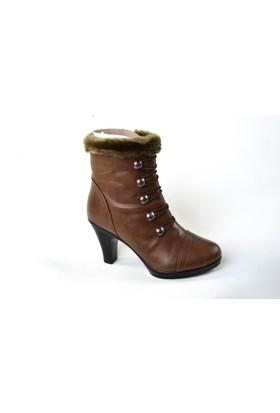 Sonimix ZN Topuklu Bayan Bot Ayakkabı