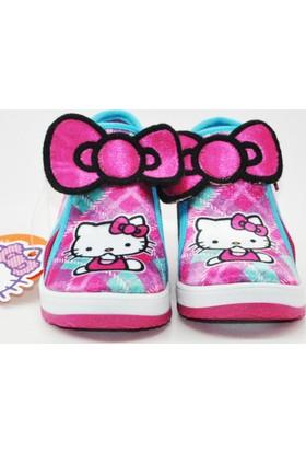 Hello Kitty Kız Çocuk Panduf Ev Ve Anaokulu Ayakkabısı