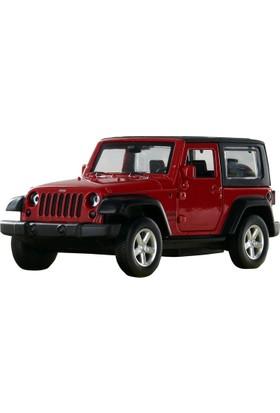 Msz Jeep Wrangler Car Model Diecast Metal Araba 1:42 Scale