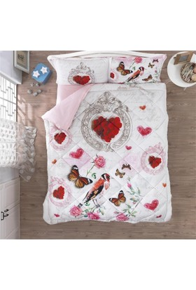 Color Of Fashıon Colors Of Fashıon Ranforce Uyku Seti Ç.K Love Heart 1276