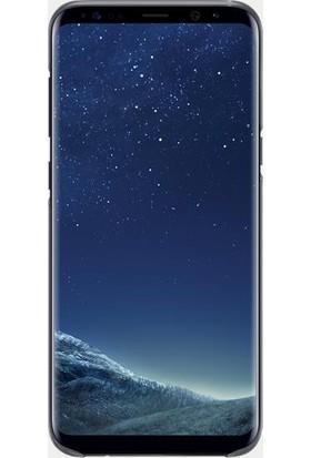 Samsung Galaxy S8 Plus Şeffaf Kılıf Siyah - EF-QG955CBEGWW
