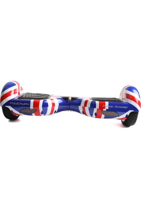 Powerway Unisex Power Scooter Pws707-Uk-Flag