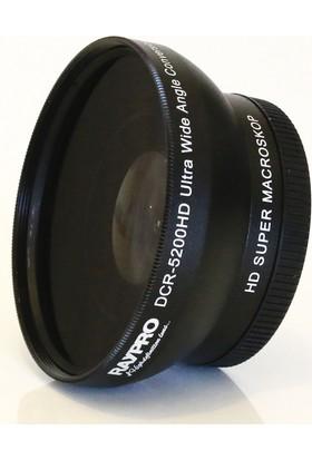 Raypro DCR-5200HD 52mm 0.45x / 0.70x Ultra Geniş Açı + Makro Lens