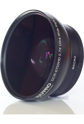 Raypro DCR-6700HD 67mm 0.70x Ultra Geniş Açı + Makro Lens