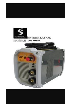 Soyberg İnvertör Kaynak Makinası 205 Amper Yerli Üretim