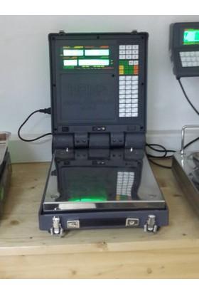 Hana Fiyat Hesaplamalı Paslanmaz Baskül Laptop 150 Kg 35X40
