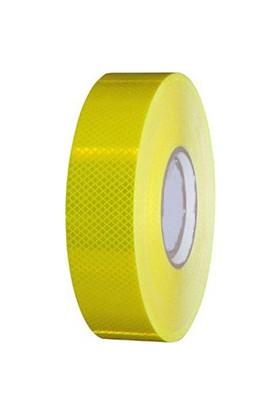 Reflektif Bant 46 Metre - Sarı - Petek