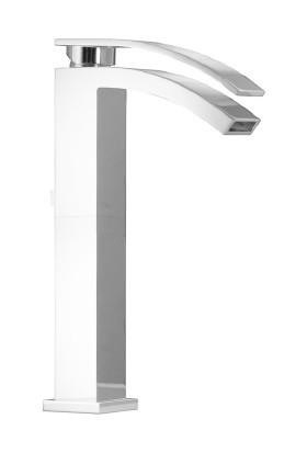 Porcelanosa-Noken Imagıne Çanak Lavabo Bataryası - Beyaz Renk