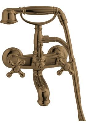 Porcelanosa-Noken Feis Banyo Bataryası -Bronz Renk