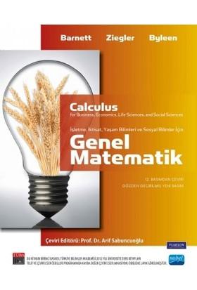 Genel Matematik - (İşletme, İktisat, Yaşam ve Sosyal Bilimle - Pearson