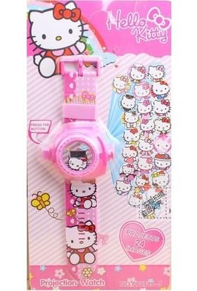 Trendelektro Hello Kitty Projektör Projector Çocuk Kol Saati -24 Farklı Görüntü