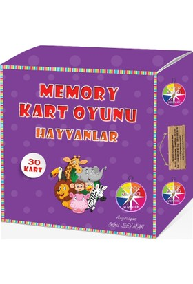 Memory Kart Oyunu: Hayvanlar - Sibel Seyman