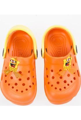 Soobe Erkek Çocuk Crocs Terlik Oranj